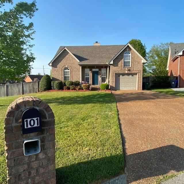 101 Blackhawk Ct Property Photo - White House, TN real estate listing