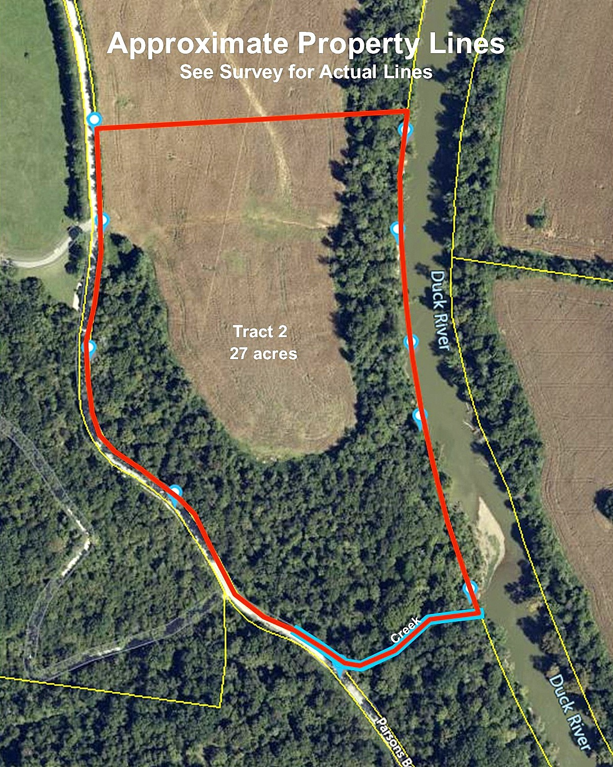 0 Parsons Bend Rd Property Photo - Columbia, TN real estate listing