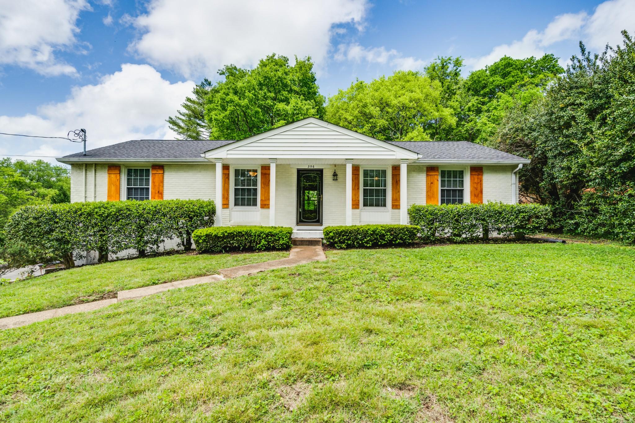 356 Blackman Rd Property Photo - Nashville, TN real estate listing