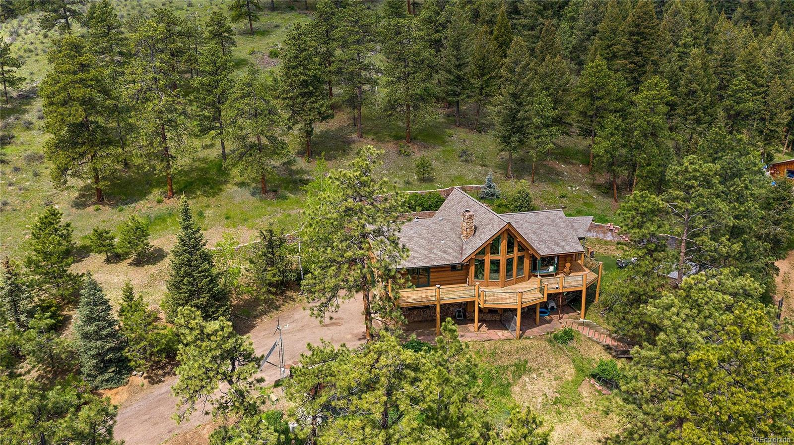 3901 Myers Gulch Road, Kittredge, CO 80457 - Kittredge, CO real estate listing