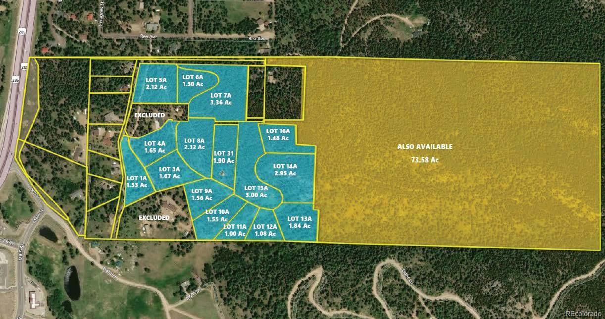 Rea Avenue, Conifer, CO 80433 - Conifer, CO real estate listing