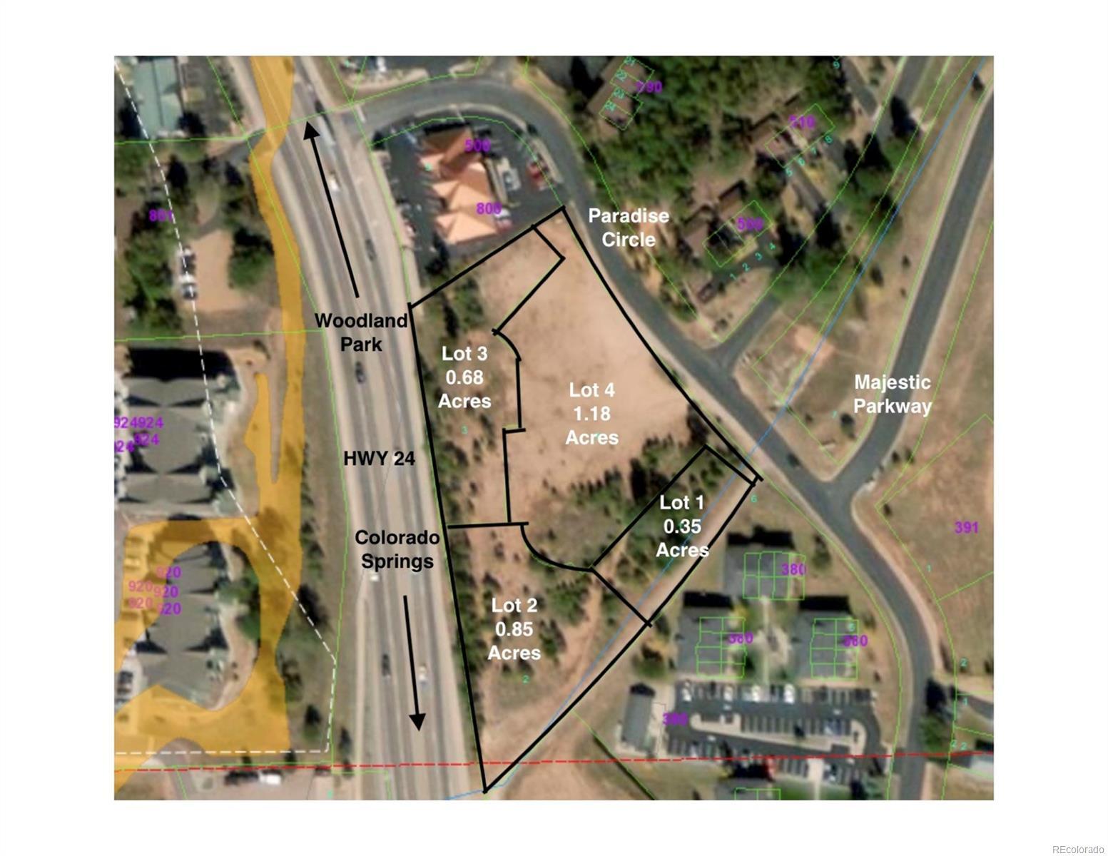 HWY 24 & Paradise Circle, Woodland Park, CO 80813 - Woodland Park, CO real estate listing