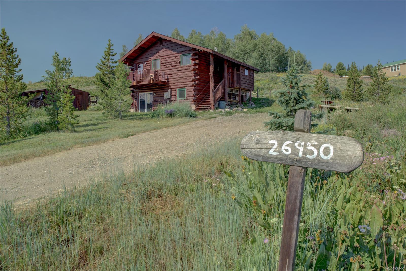 26950 Beaver Canyon Drive, Clark, CO 80428 - Clark, CO real estate listing