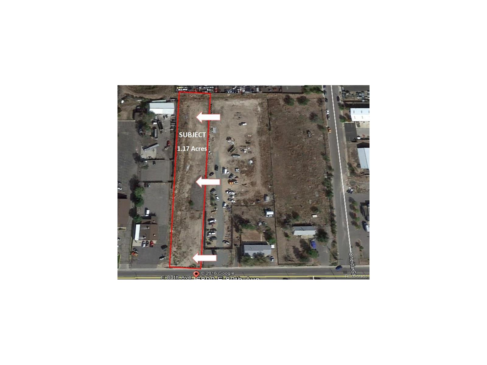 VACANT LOT 80th Avenue, Commerce City, CO 80022 - Commerce City, CO real estate listing