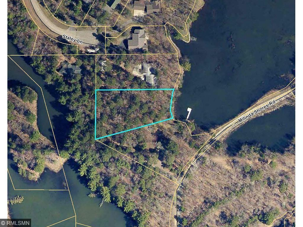 TBD Milinda Shores Road Property Photo - Crosslake, MN real estate listing