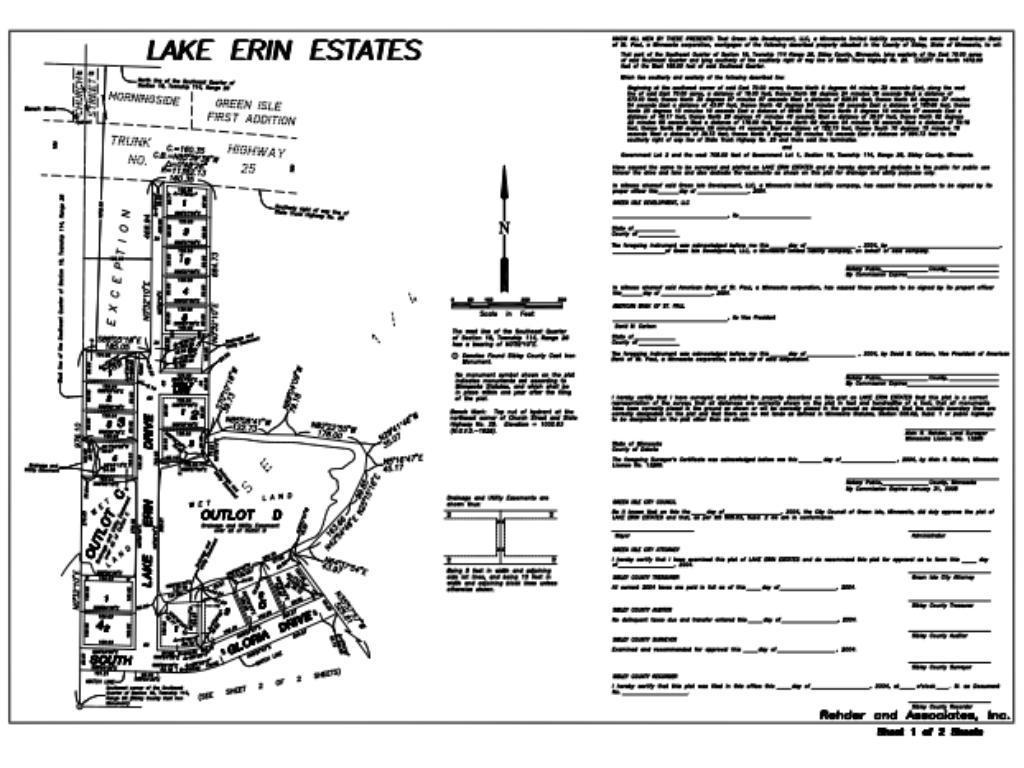 205 Lake Erin Drive Property Photo - Green Isle, MN real estate listing