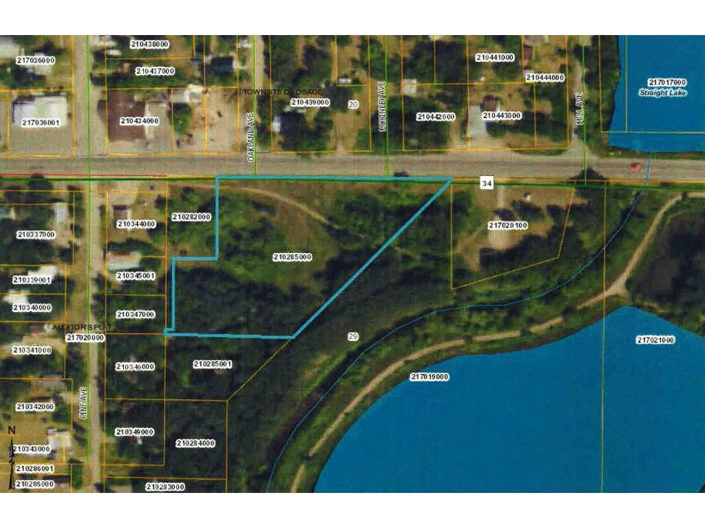 TBD Highway 34 Property Photo - Osage, MN real estate listing