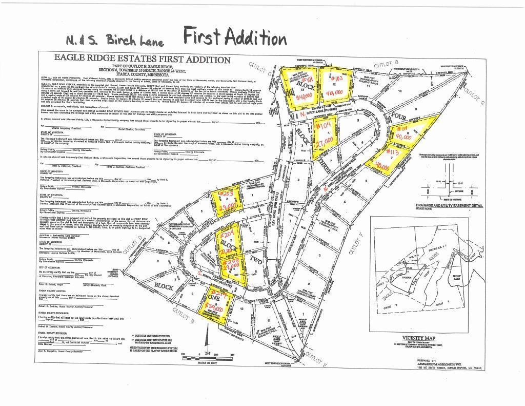 101 N Birch Lane Property Photo - Coleraine, MN real estate listing