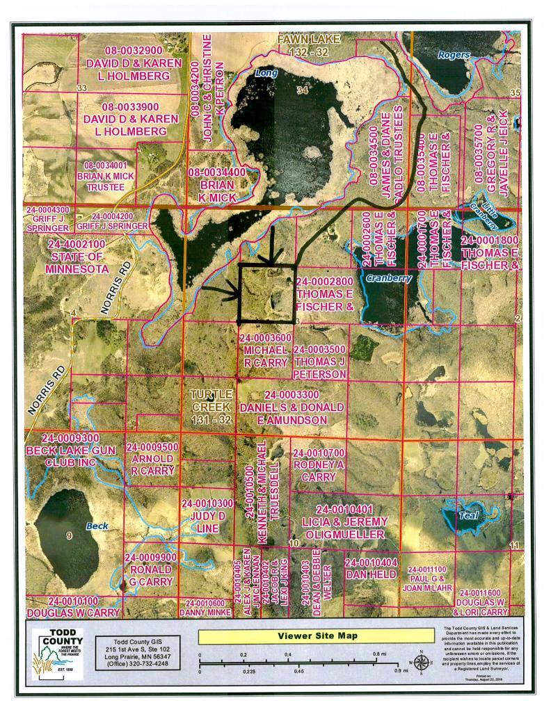 TBD Land has no street name Property Photo - Cushing, MN real estate listing