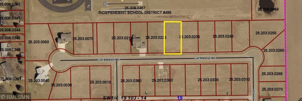 TBD Glynn Avenue NE Property Photo - Grand Meadow, MN real estate listing