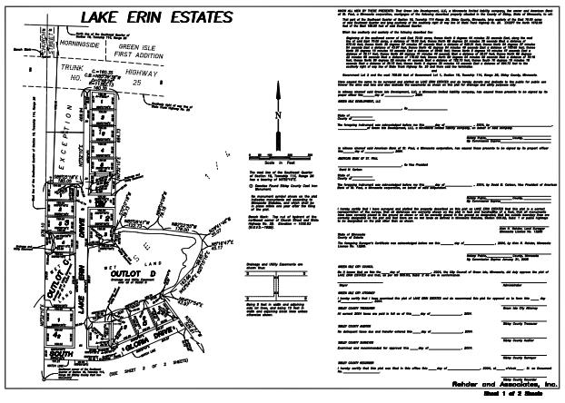 185 Lake Erin Drive Property Photo - Green Isle, MN real estate listing
