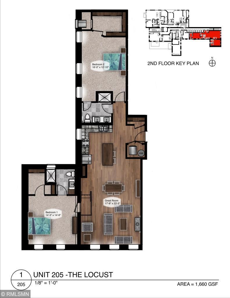 517 2nd Street #205 Property Photo - Hudson, WI real estate listing