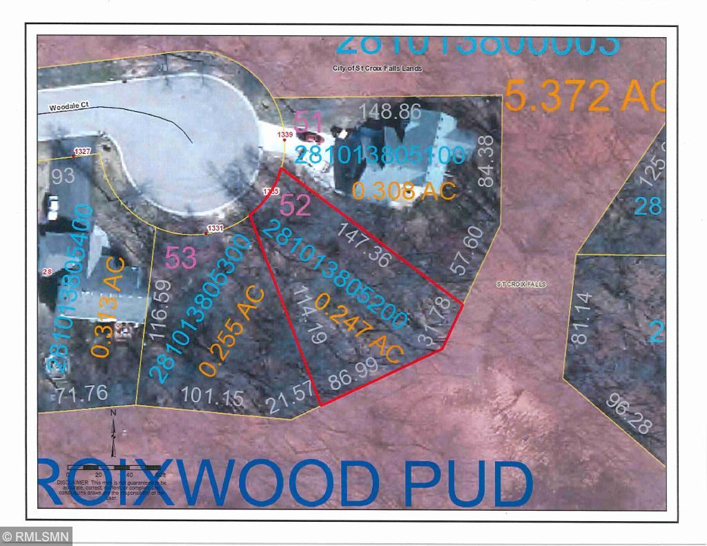 Lot 52 Woodale Court Property Photo - Saint Croix Falls Twp, WI real estate listing