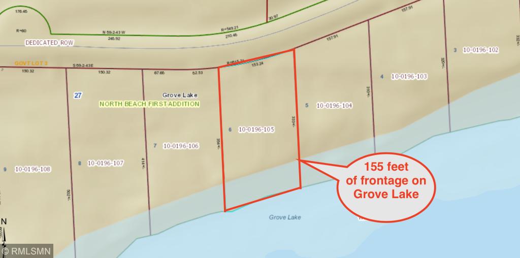 12663 Beach Property Photo - Glenwood, MN real estate listing