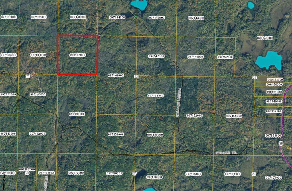 TBD Tulaby Lake Lane Property Photo - Ponsford, MN real estate listing