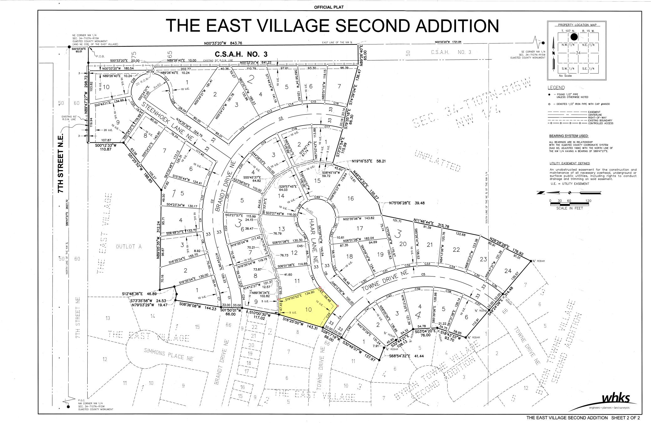 L10, B3 CORNER LOT (East Village 2nd) NE Property Photo