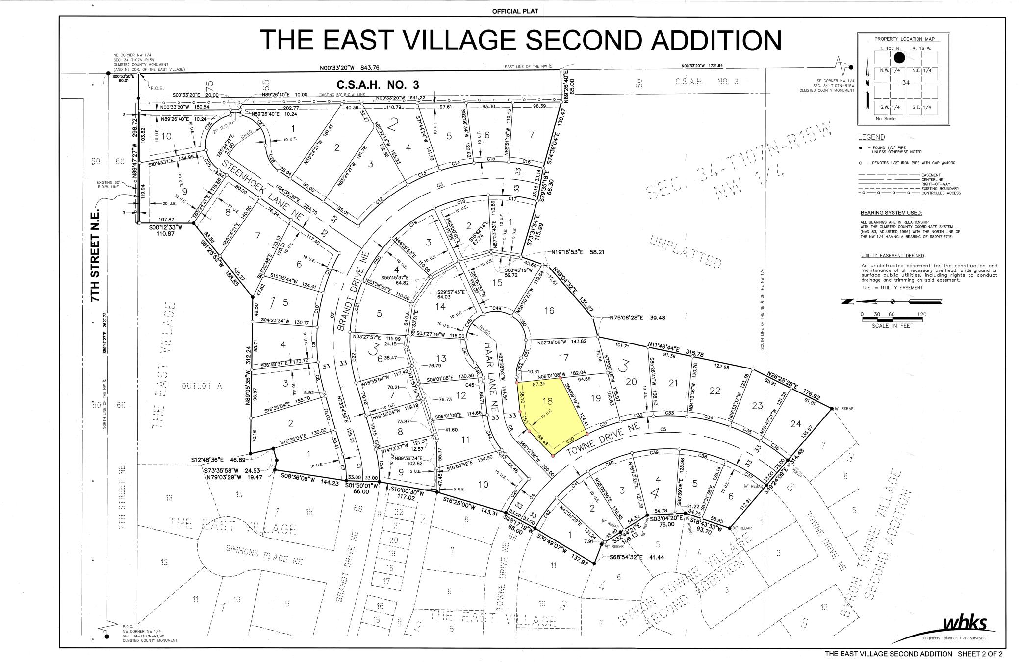 L18, B3 CORNER LOT (East Village 2nd) NE Property Photo