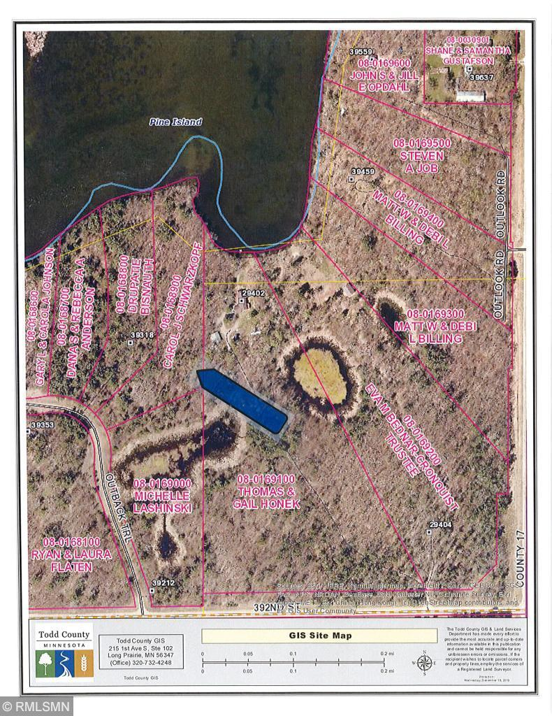 xxx Outback Trail Property Photo - Browerville, MN real estate listing
