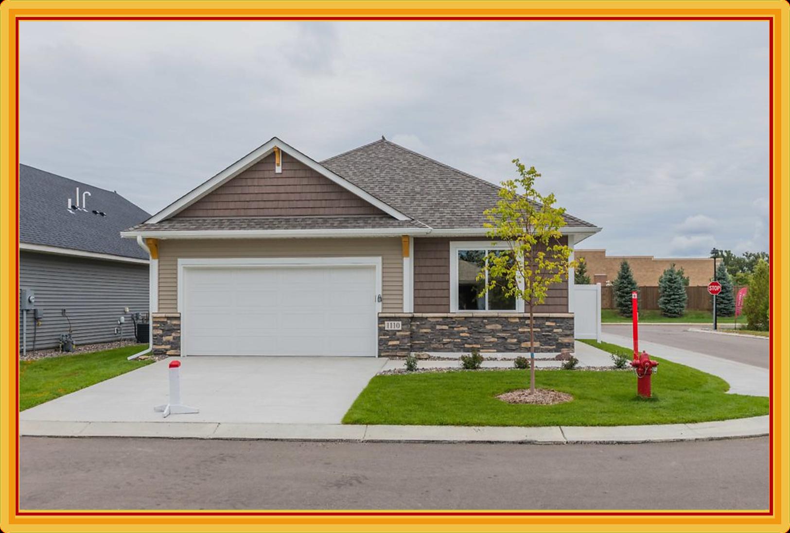 1110 115th Circle NE Property Photo - Blaine, MN real estate listing