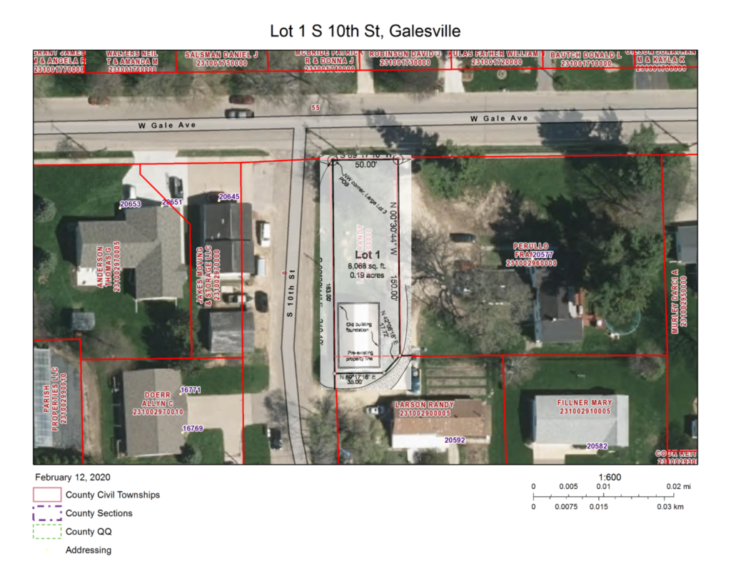 Lot 1 S 10th St Property Photo - Galesville, WI real estate listing