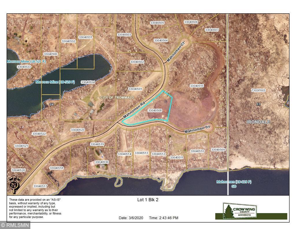 XXX Lot 1 Mahnomen Road Property Photo - Trommald, MN real estate listing