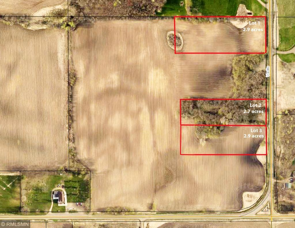 XXX lot 1 Verdin St. NW Property Photo - Braham, MN real estate listing