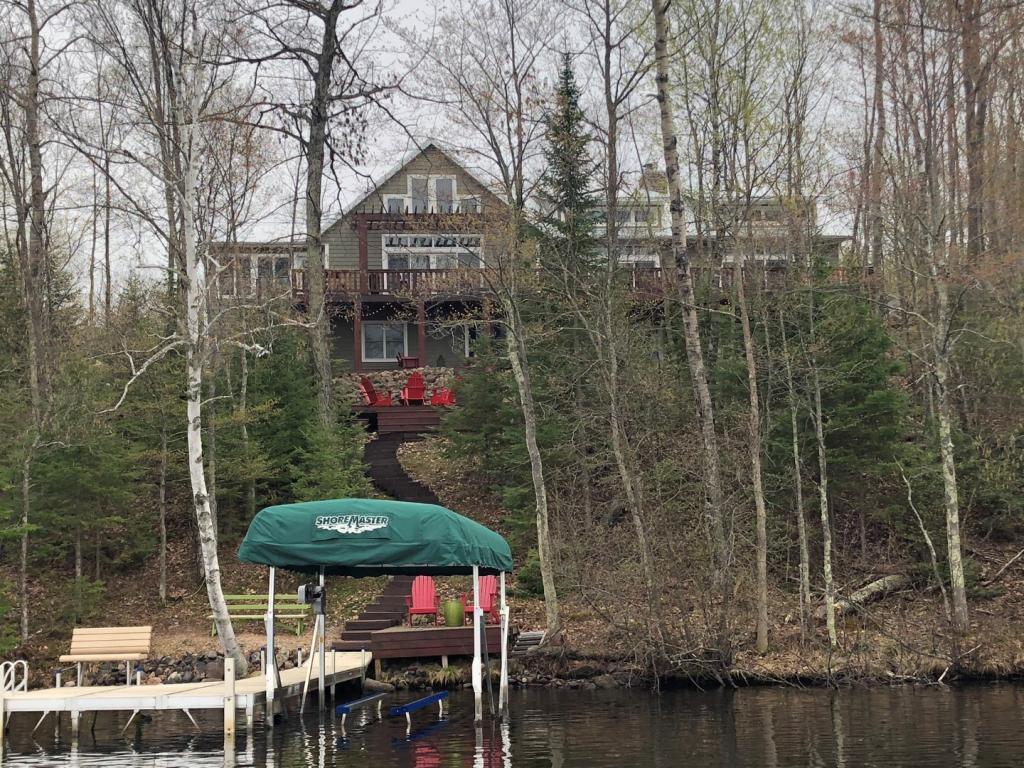 W370 Slim Lake Property Photo - Stone Lake, WI real estate listing