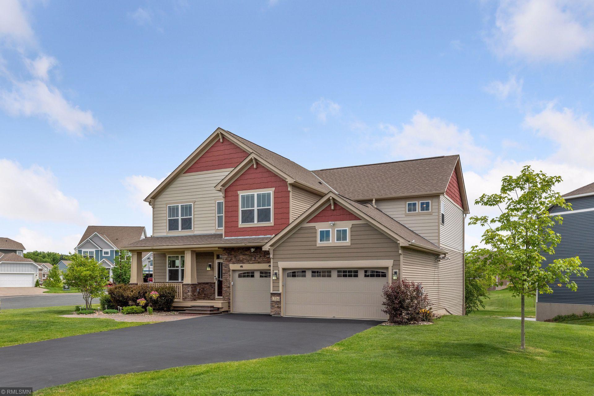 1316 Shadow Creek Curve Property Photo - Eagan, MN real estate listing