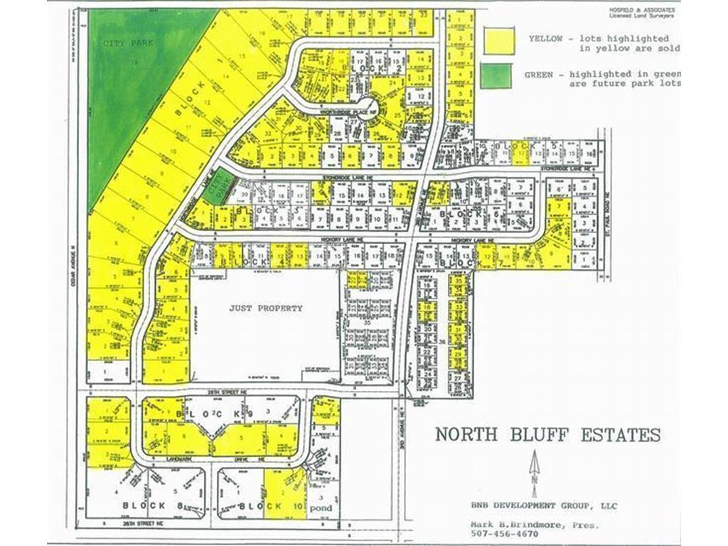 BLK 9 Lot 5 Property Photo - Owatonna, MN real estate listing