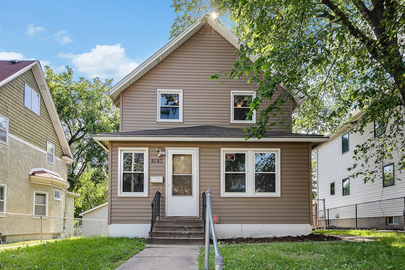 1414 Penn N Property Photo - Minneapolis, MN real estate listing