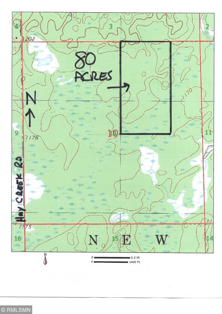 XXX Hay Creek Property Photo - Cloverton, MN real estate listing