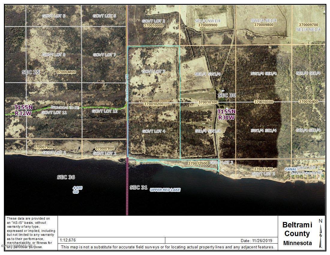 Lake 80 Shoreline NE Property Photo - Waskish, MN real estate listing