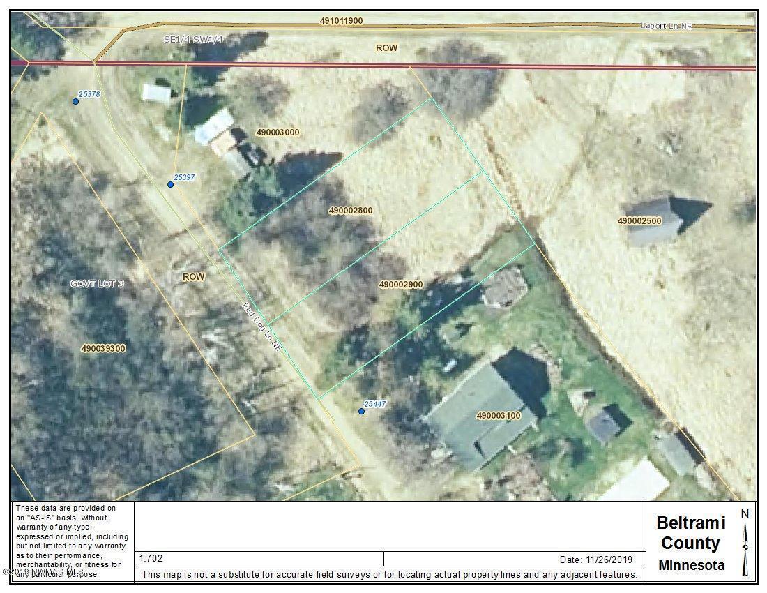 Lot 1&2 Red Dog NE Property Photo - Waskish, MN real estate listing