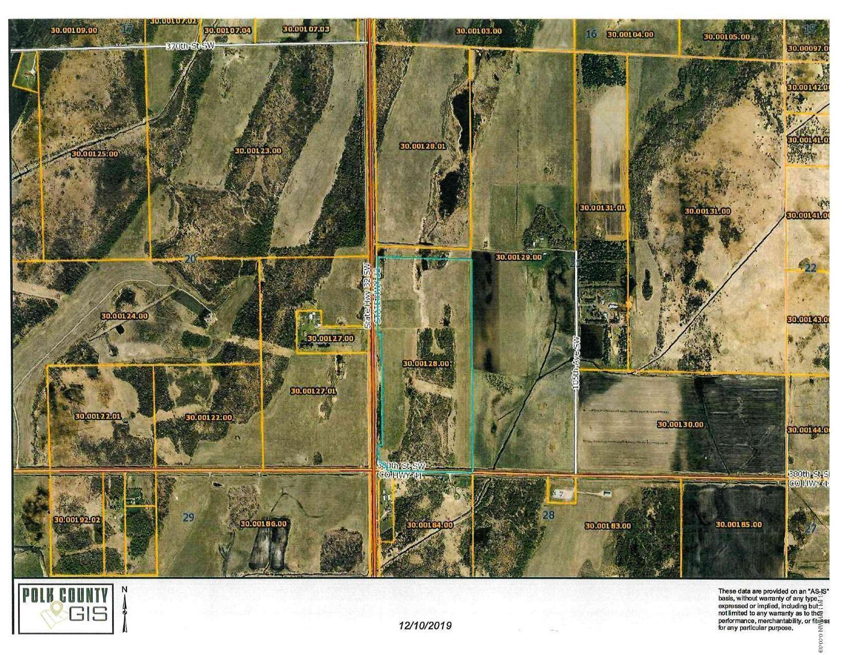 TBD Jct of Hwy 32 SW & 380th SW Property Photo - Fertile, MN real estate listing