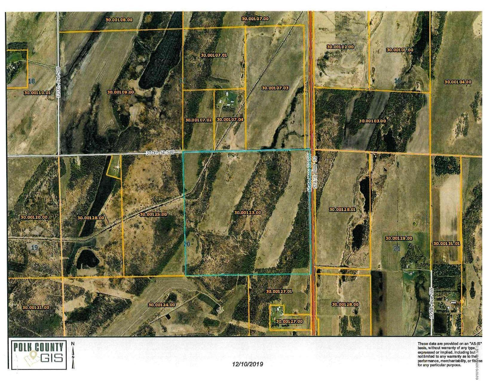 TBD Jct of Hwy 32 & 370th SW Property Photo - Fertile, MN real estate listing