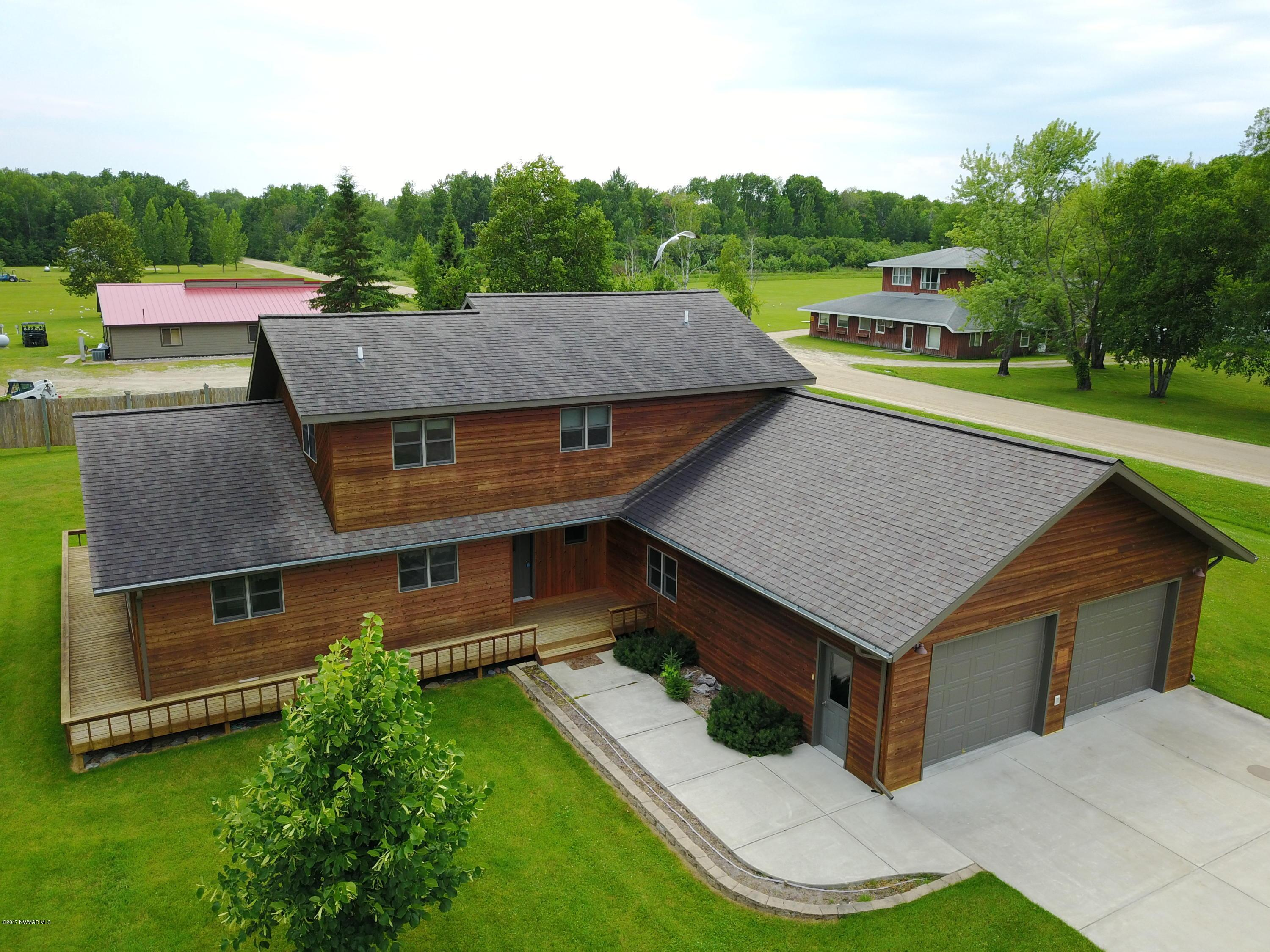 9595 Airfield NW Property Photo - Angle Inlet, MN real estate listing