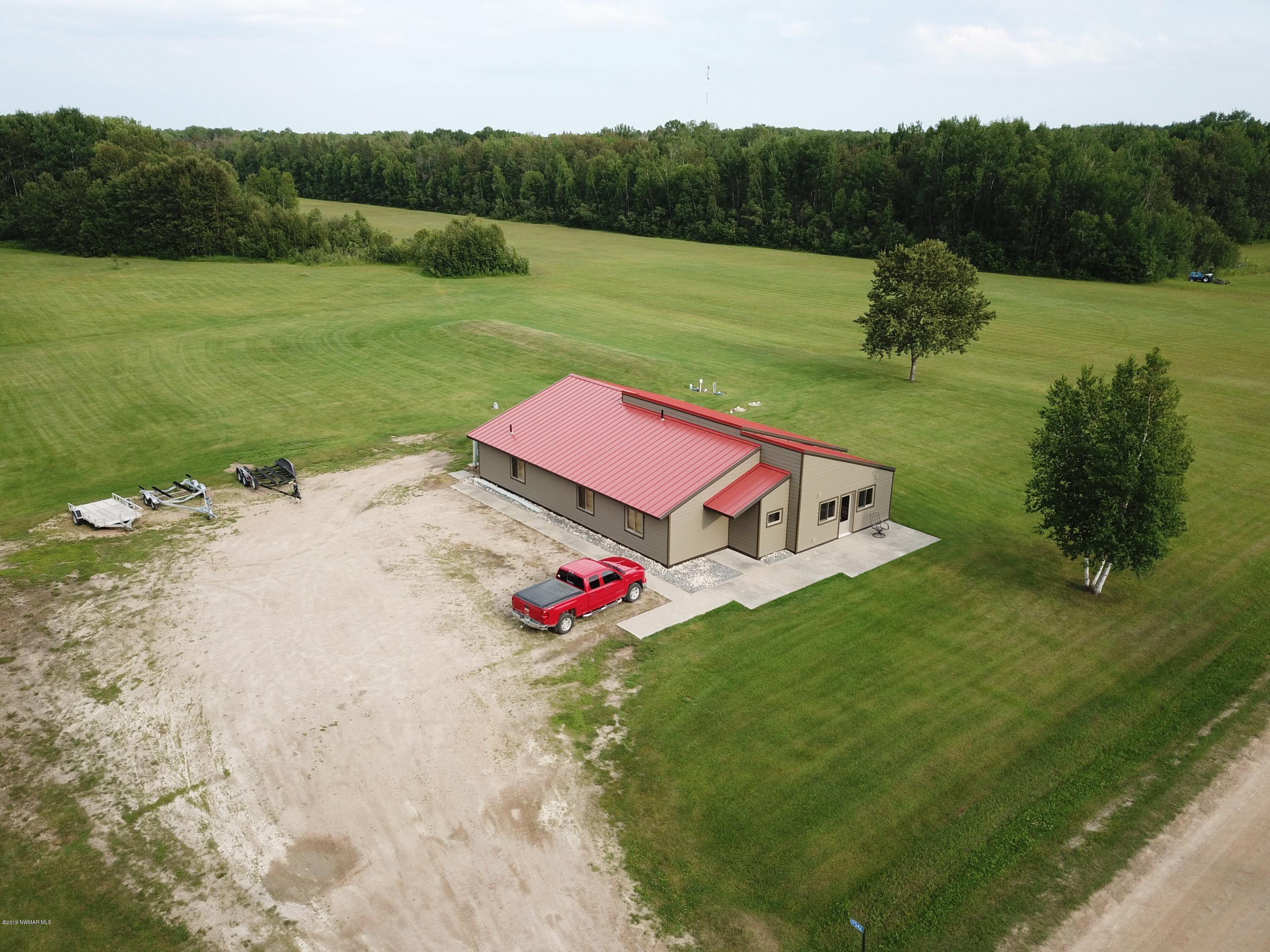 9502 Airfield Property Photo - Angle Inlet, MN real estate listing