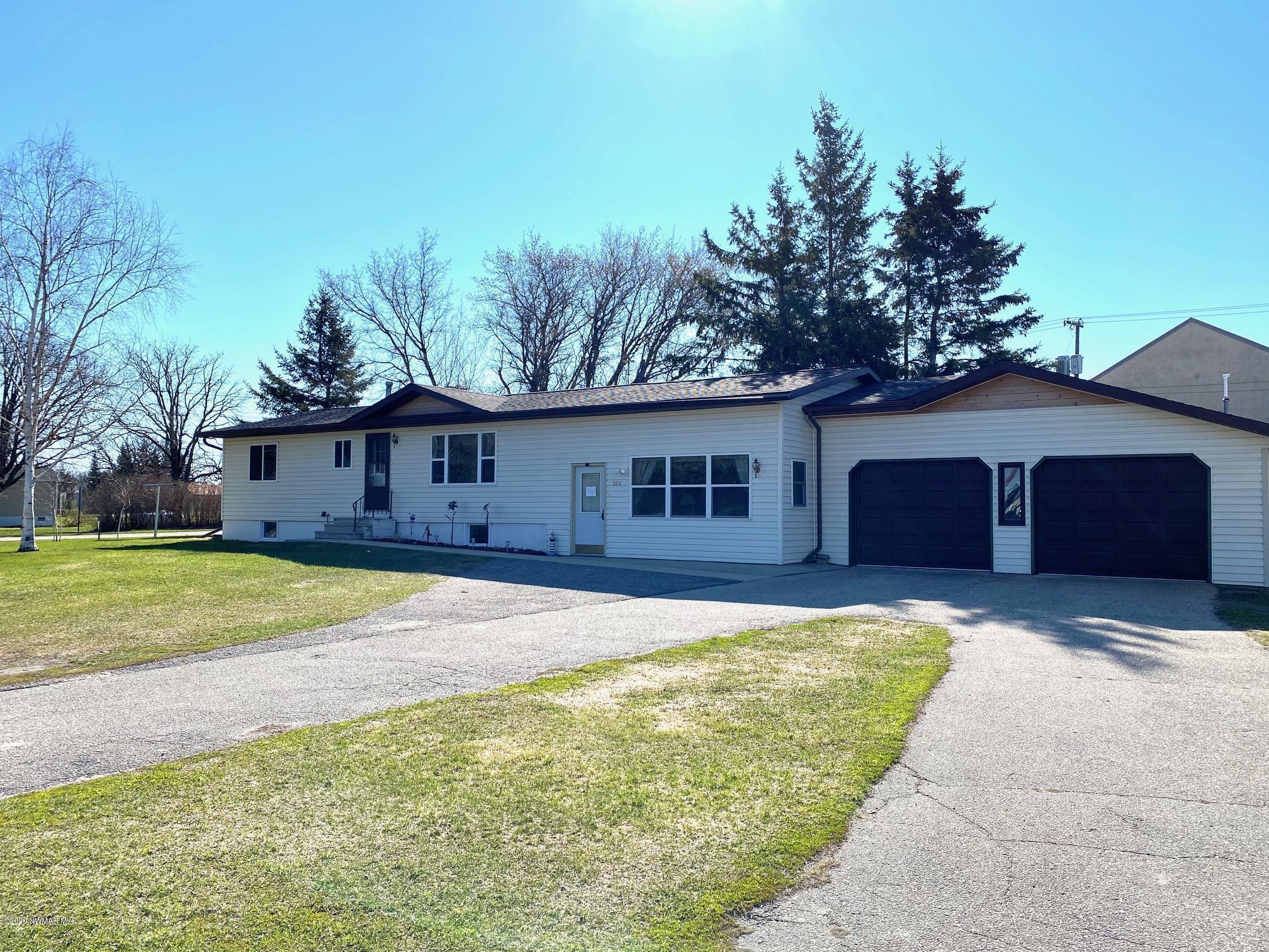 204 James Property Photo - Badger, MN real estate listing