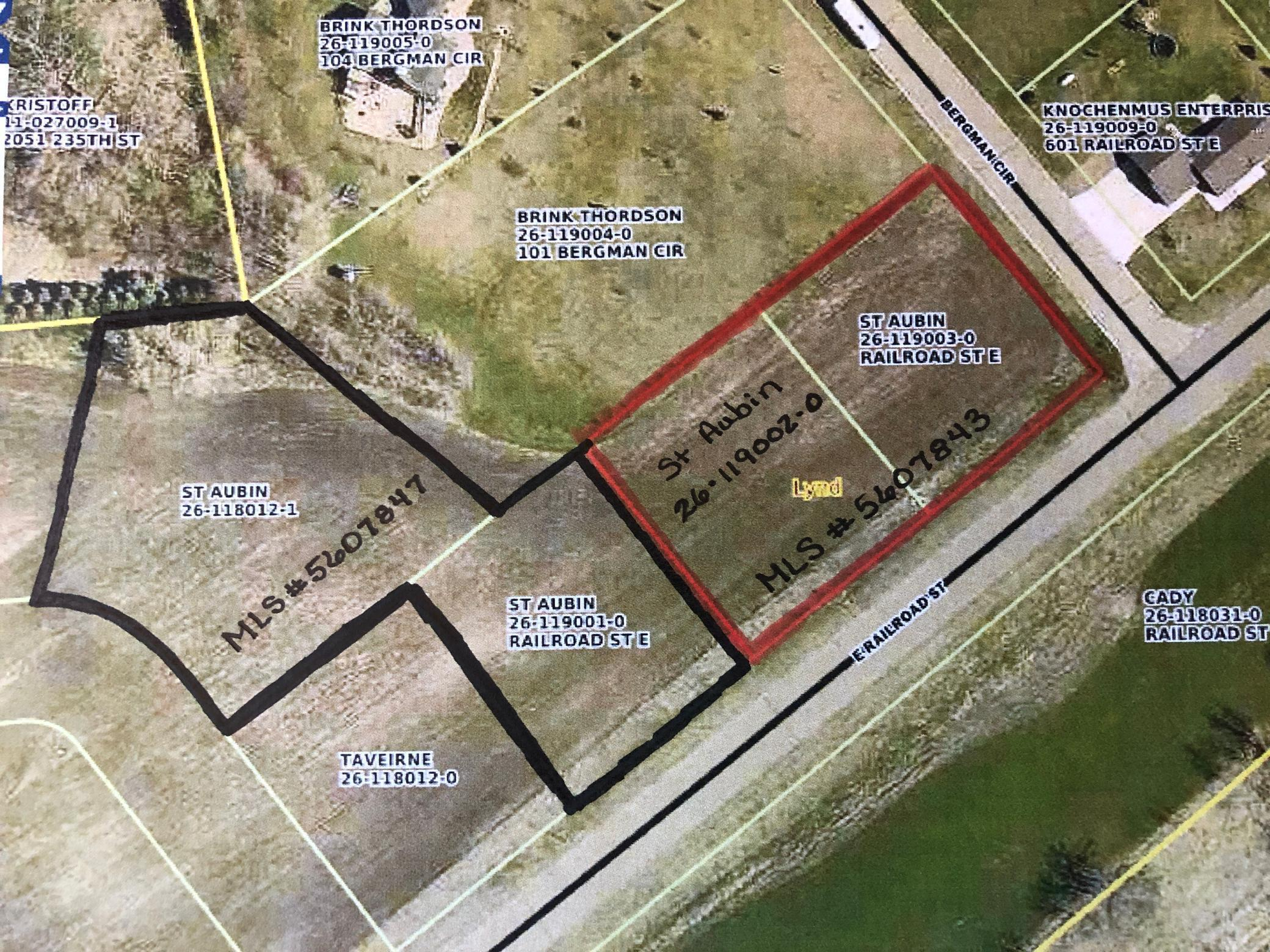 A & 1 E Tract A & Lot 1 Railroad Street Property Photo - Lynd, MN real estate listing