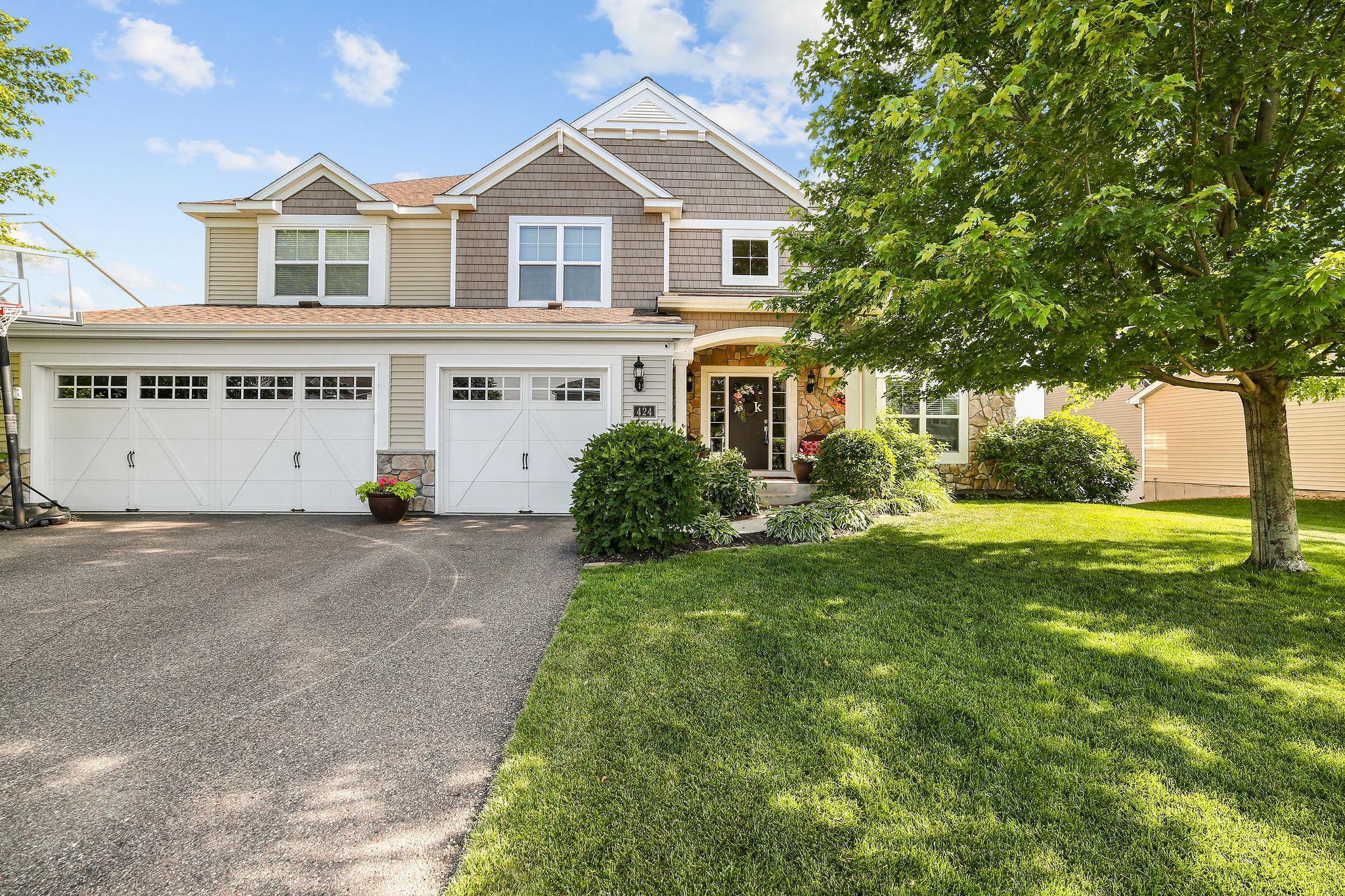 424 122nd Avenue NE Property Photo - Blaine, MN real estate listing