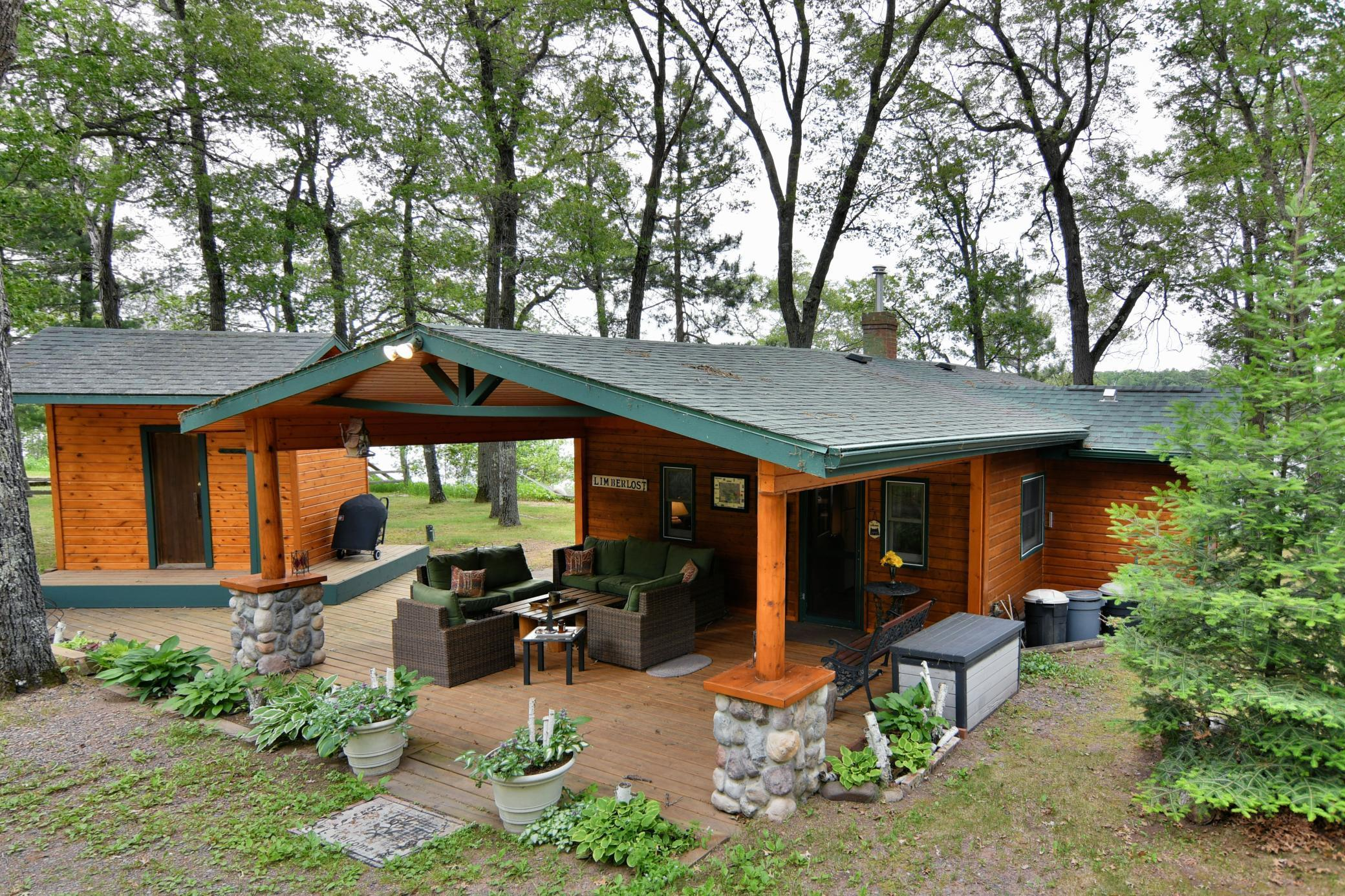30208 Des Moines lake Road Property Photo - Webb Lake, WI real estate listing
