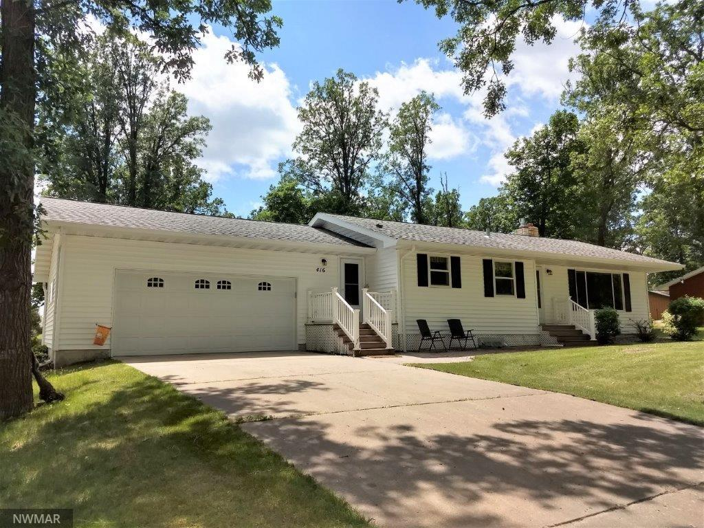 416 3rd SW Property Photo - Clearbrook, MN real estate listing