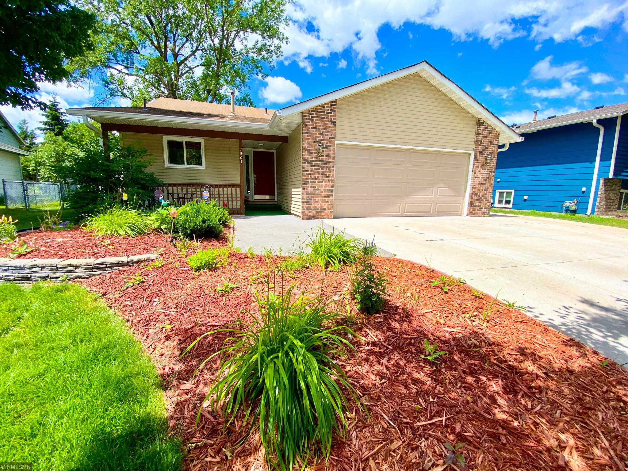 7507 Fairfield Property Photo - Brooklyn Park, MN real estate listing