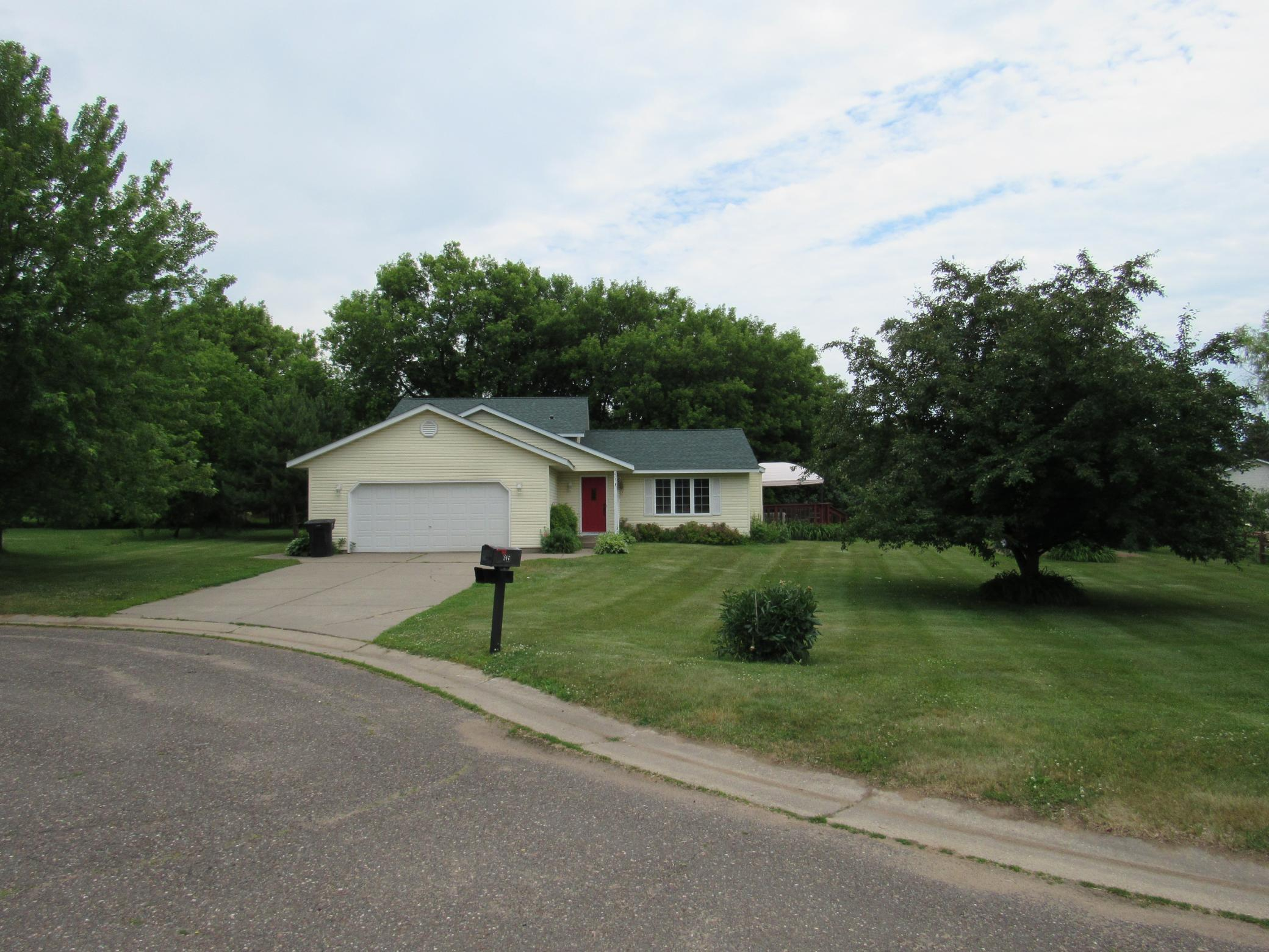 605 Millerman Place Property Photo - Amery, WI real estate listing