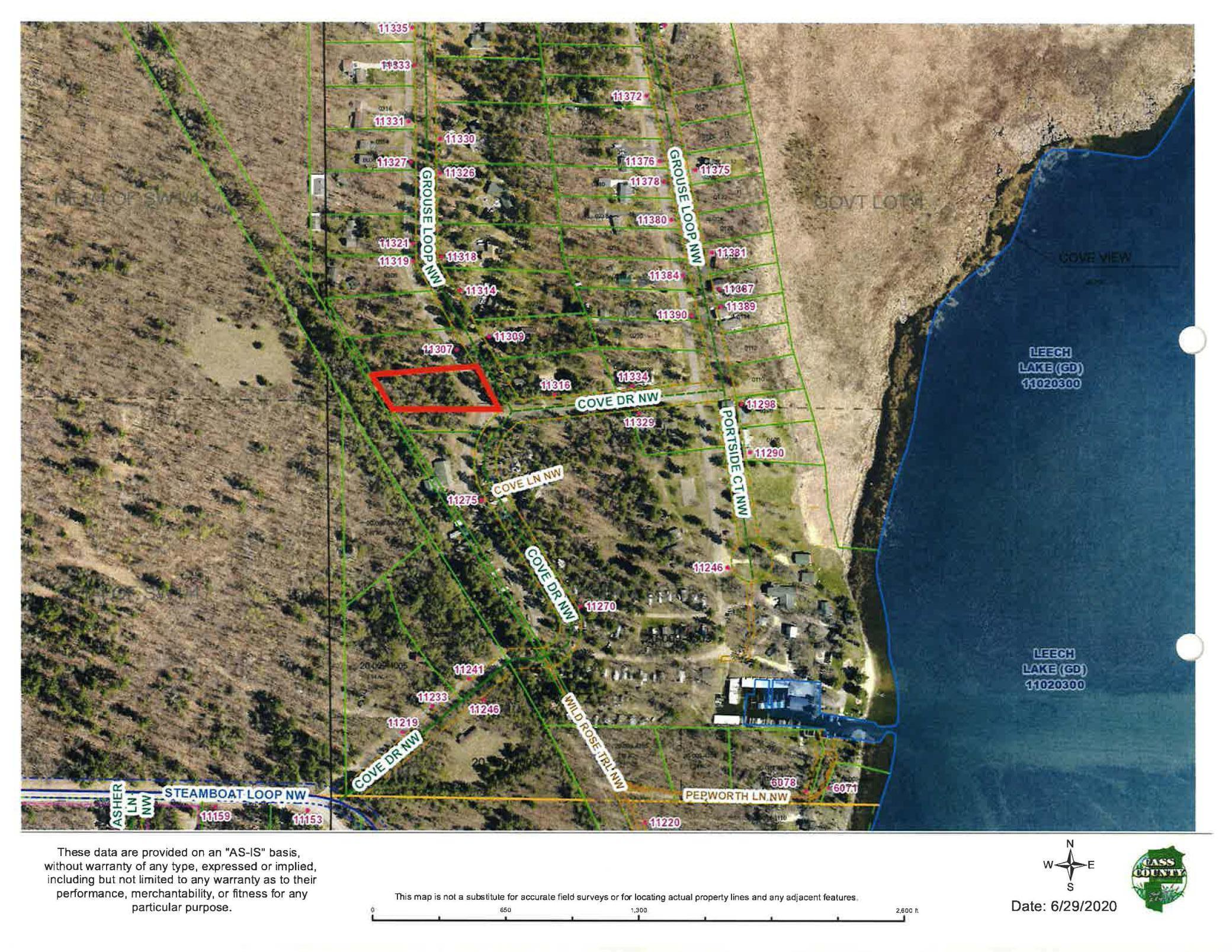 TBD Grouse Loop NW Property Photo - Walker, MN real estate listing