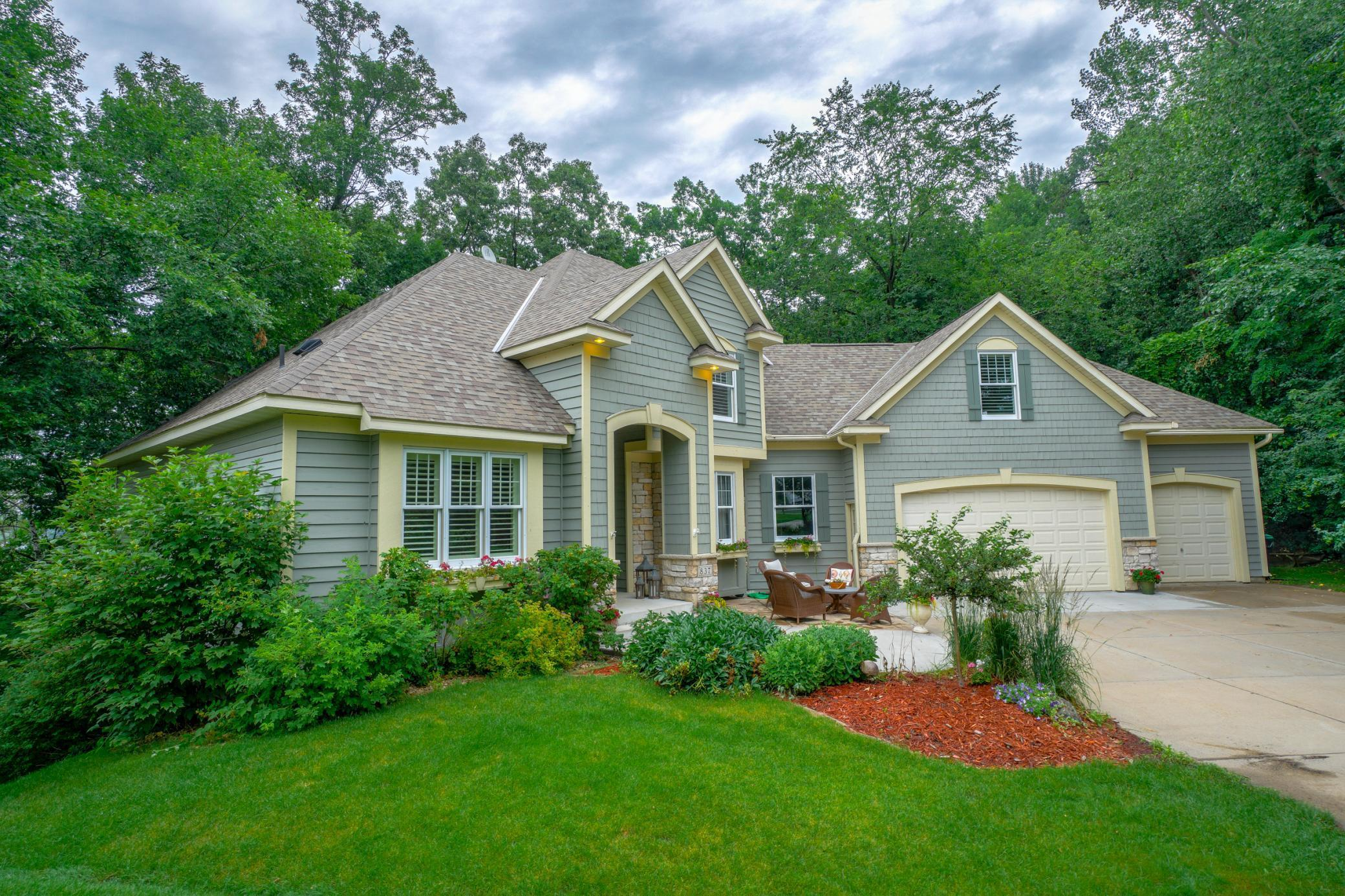 837 Amble Court Property Photo - Shoreview, MN real estate listing
