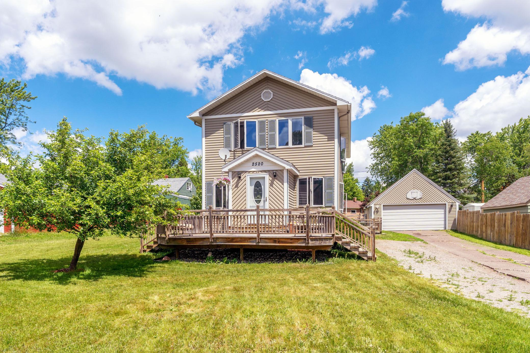 2520 Plymouth Avenue Property Photo - Duluth, MN real estate listing