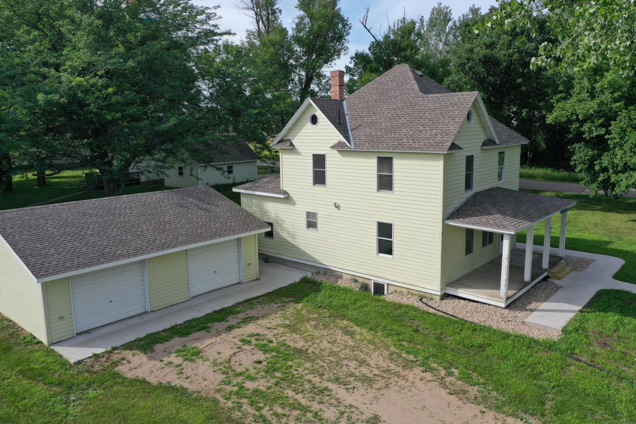 802 and 806 Pacific Avenue Property Photo - Kerkhoven, MN real estate listing