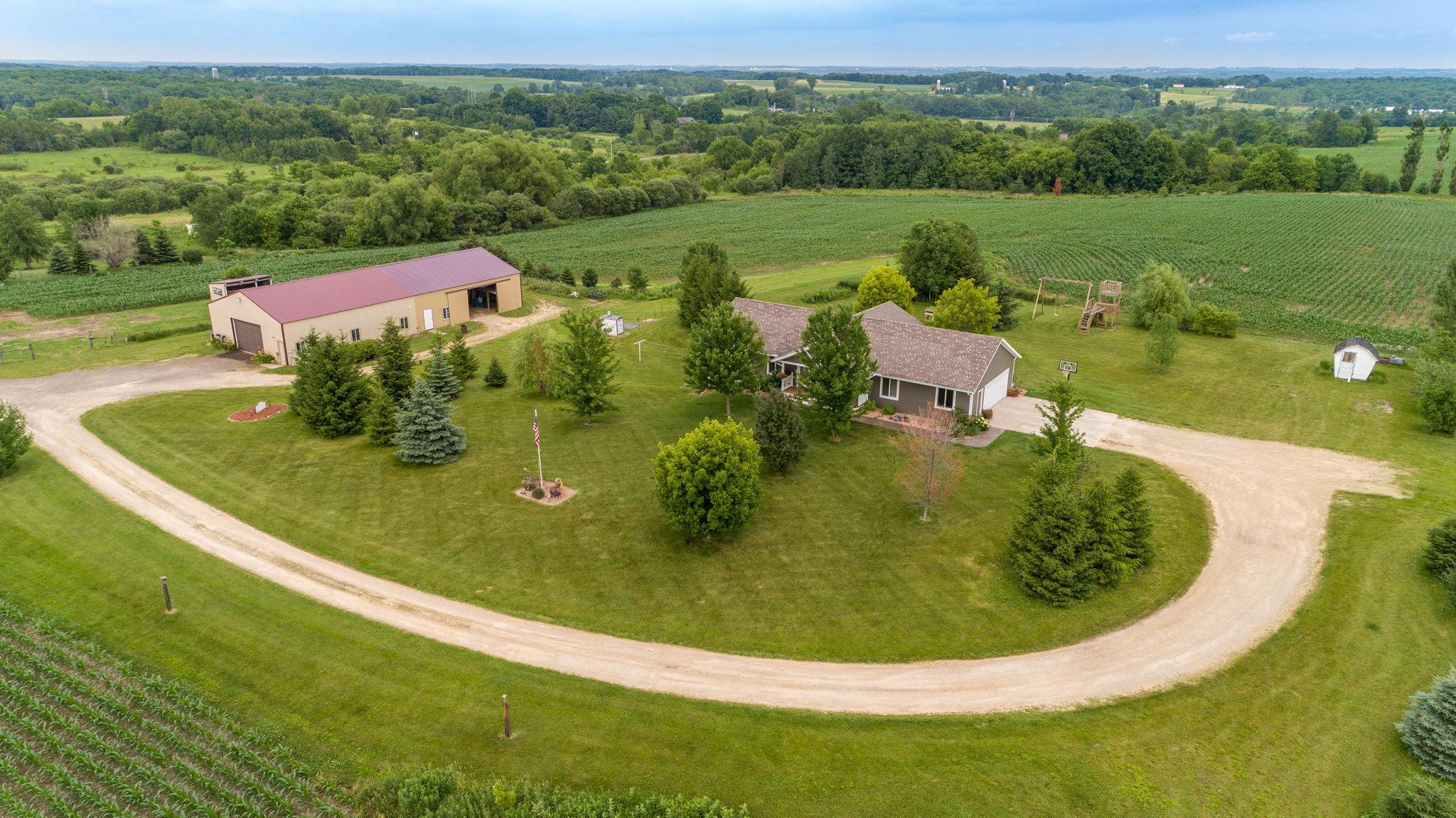 N8466 County Road BB Property Photo - Spring Valley, WI real estate listing
