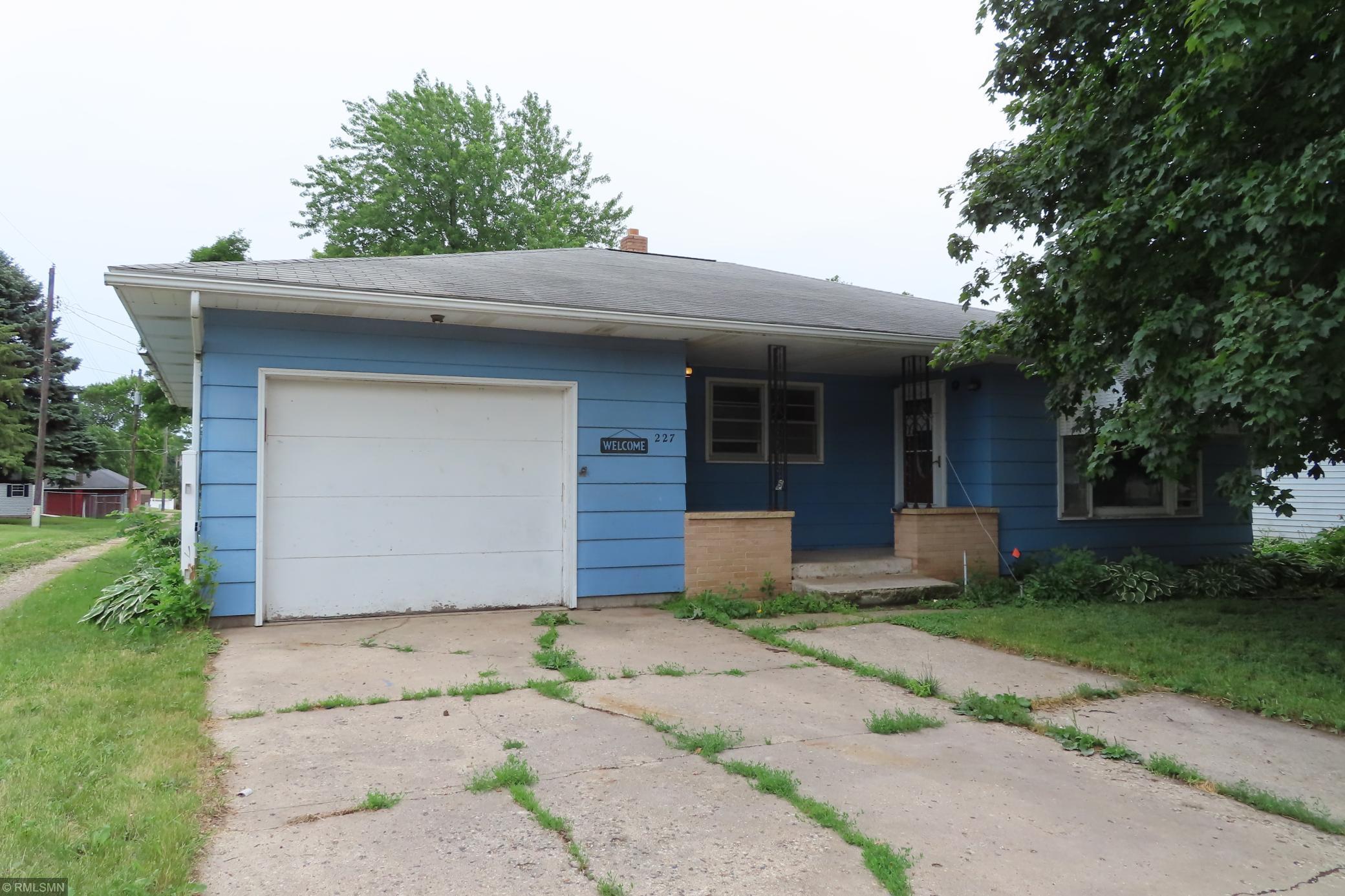227 Main Property Photo - Buffalo Lake, MN real estate listing